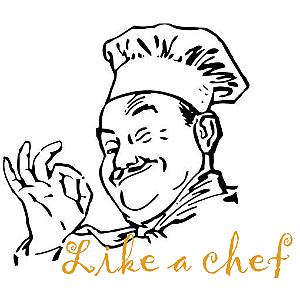 Like a chef
